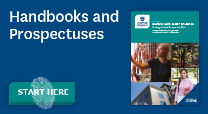 Button: Link to handbooks and prospectuses