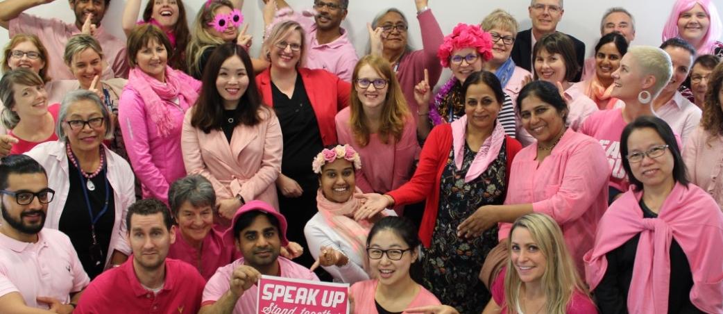 Pink Shirt Day 2018 at FMHS