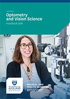 Optometry and Vision Science 2018 Handbook Cover