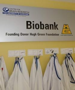Biobank sign