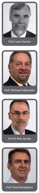 Senior historical appointments in the Department of Optometry and Vision Sciences