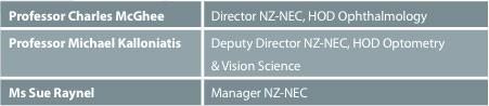 NZ-NEC Management Team