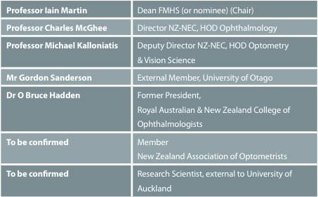 NZ-NEC Advisory Board