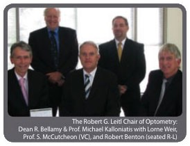 The Robert G. Leitl Chair of Optometry