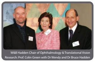 W & B Hadden Chair of Ophthalmology and Translational Vision Research