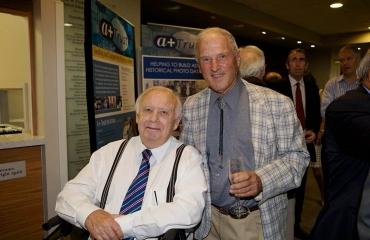 The late Prof Derek North, HOD 1968-1979 and Dr Tom Miller ONZM, PhD, DSc