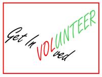 Get involved, volunteer
