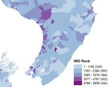 Interactive Map Of New Zealand.Interactive Maps Of Deprivation In New Zealand The University Of